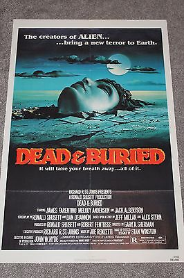 Dead And Buried (Original 1981 Us One Sheet Poster)