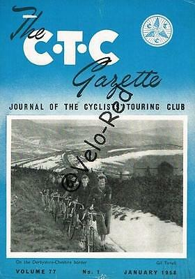 Various editions of CTC Gazette from 1958 & 1959(39)