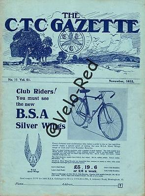 Various editions of CTC Gazette from 1932 & 1933(27)