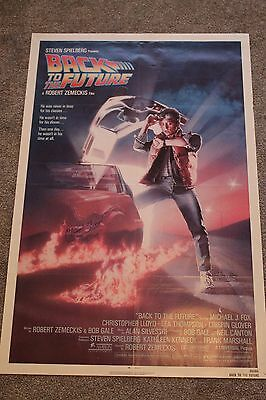 Back To The Future (Original 1985 Signed Us One Sheet Poster, Christopher Lloyd)