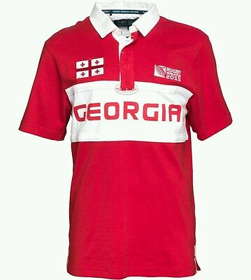 Rugby World Cup 2015 - Georgia supporters rugby jersey Large - Official Product