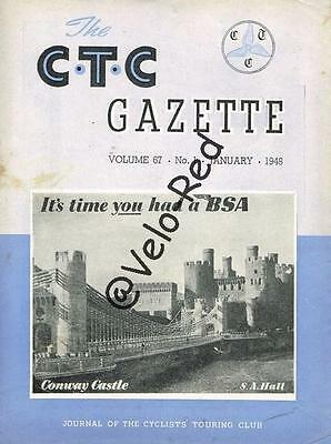 Various editions of CTC Gazette from 1948 & 1949(34)