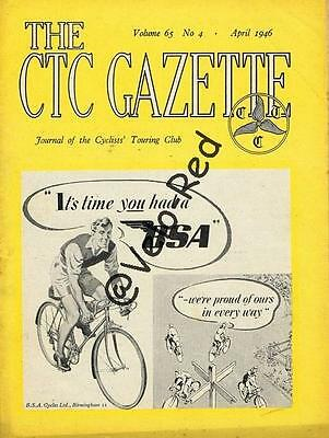 Various editions of CTC Gazette from 1946 & 1947(33)