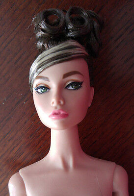 Integrity Toys Nude Poppy Parker - 'star In The Making' - Brown Curly Updo