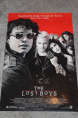 The Lost Boys (Original Rolled 1987 Us One Sheet Poster)
