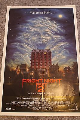 Fright Night 2 (Original Rolled 1989 Us One Sheet Poster)