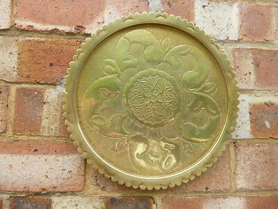 Brass  Detailed * Wall Hanging Plaque * Only £3.99 Free Delivery