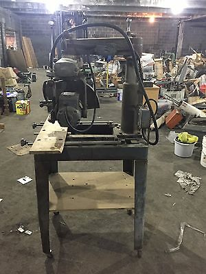 Vintage 1960's Delta Rockwell Radial Arm Saw 30-C, 2HP 3Ph