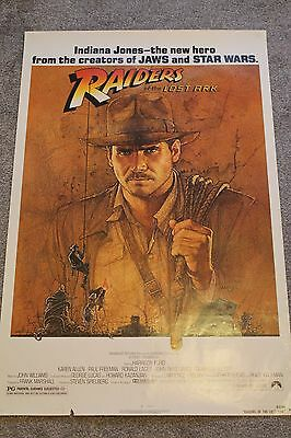 Raiders Of The Lost Ark (Original Rolled 1981 Us One Sheet Poster)