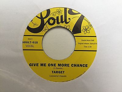 """Target - Give Me One More Chance / Cleveland 7"""" Soul7 Disco Jazzman Re."""