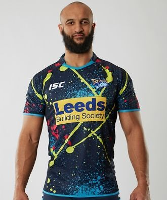 Leeds Rhinos training top XL Rare FREE DELIVERY