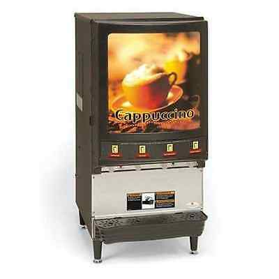 Grindmaster PIC4 Commercial Cappuccino Dispenser W 1 Case Mix CALL FOR SHIPPING