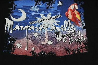 Medium blue Jimmy Buffett's Margaritaville shirt Myrtle Beach, S.C.