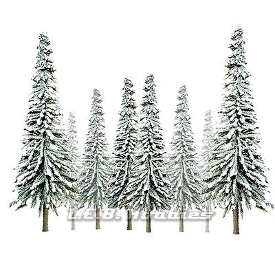"24//pk MP Scenery Products 70811 HO Scale Scenic Conifer Trees 4/"" to 6/"""