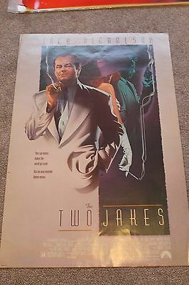 The Two Jakes (Original Rolled 1990 Us One Sheet Poster, Jack Nicholson)