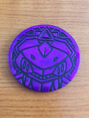 MINT Genesect Coin - Pokemon Trading Card Game