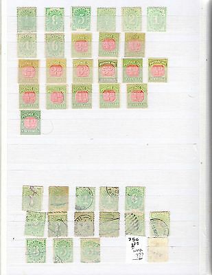 Australia Postage Due Stamps Mint And Used In 2 Photos