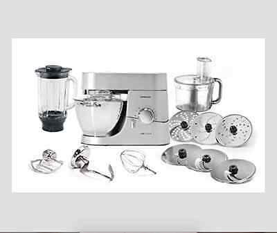 Kenwood KMC010 Chef Stand Mixer/Titanium Silver (BRAND NEW IN ORIGINAL PACK)
