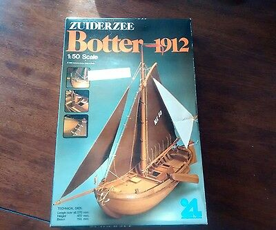 Zuiderzee Botter 1912 model ship kit! 1:50 scale