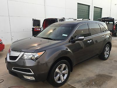 2012 Acura MDX AWD TECH PACKAGE 2012 Acura MDX Tech Pack Sport Utility 4-Door 3.7L Navigation Rear Entertainment
