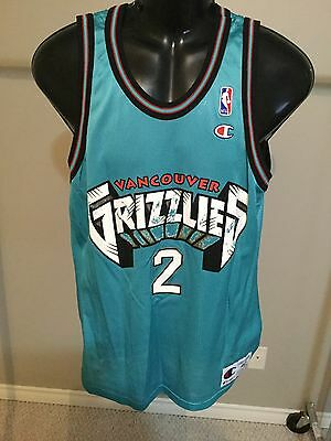 Vancouver Grizzlies #2 Anthony Size 40 Basketball Jersey