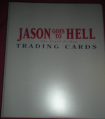 Friday The 13Th Jason Goes To Hell Final Card Set 1993 J1 Binder Eclipse Topps