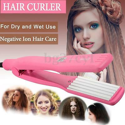 Hair Curler Crimper Roller Curling Anion Curl Wave Wet/Dry Roll Christmas Gift