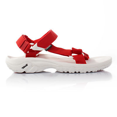 Teva Hurricane XLT Mens White Red Walking Hiking Summer Shoes Sandals