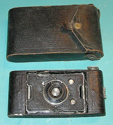 Vintage Folding Camera - ANSCO BIONIC  WITH CASE