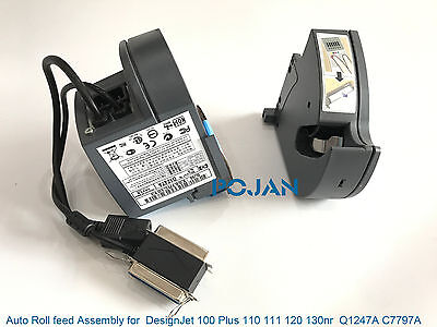 Q1247A C7797A Auto Roll feed Assembly for HP DesignJet 100 Plus 110 111 120 130