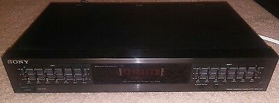 Sony SEQ-711 7-Band Graphic Equalizer Stereo Receiver