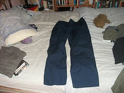 Peter Storm Navy Blue womens walking trousers size 14R