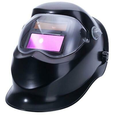 Black Mask Pro Solar Powered Auto Darkening Welding Helmet Grinding Welder Mask