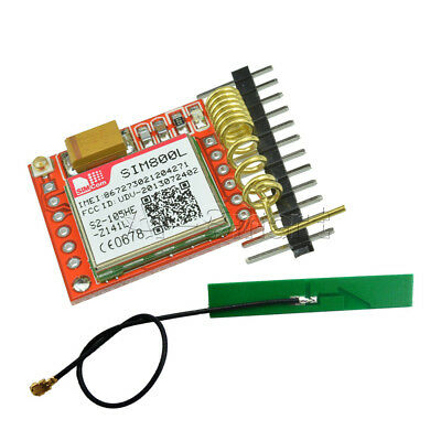 Smallest SIM800L GPRS GSM Module Card Board Quad-band Onboard With Antenna TTL A