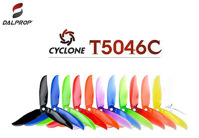 Dal Prop MR1276 Cyclone V2 Tri Blade T5046C Propellers 15 Packs (60 Pieces)