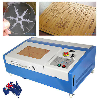 High Precise 40W CO2 Laser Engraving Cutting Cutter Machine Engraver USB Port