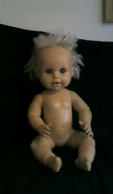 Vintage tiny tears doll/ or baby first love.