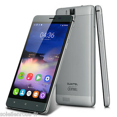 "OUKITEL K6000 Pro 5.5"" 3GB+32GB 4G LTE Smartphone Android 6.0 OctaCore 16MP Gris"