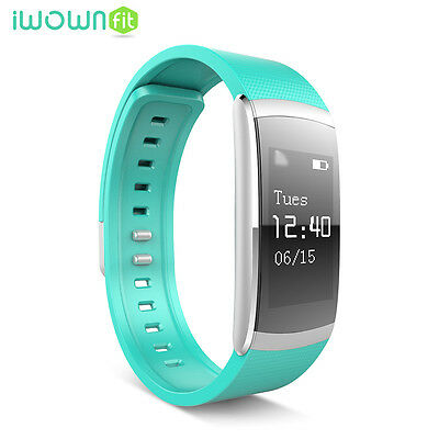 Iwown I6 Pro Impermeable Sport Bluetooth Smart Band Wrist Para Android IOS Verde
