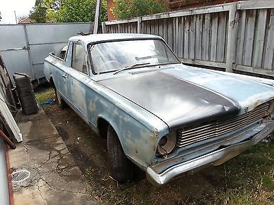 Vc Valiant ute dodge project no reserve