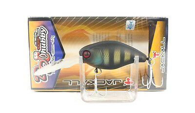 Jackall Chubby 38 DD Diving Floating Crank Bait Lure Black King Gill (2426)