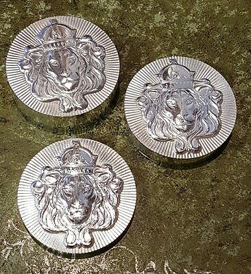 Set of 3 Scottsdale Mint Stacking Rounds 0.999 Silver