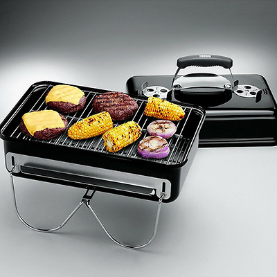 Charcoal Barbeque Grill Bbq Barbecue Portable Outdoor Camping Garden Barbeque