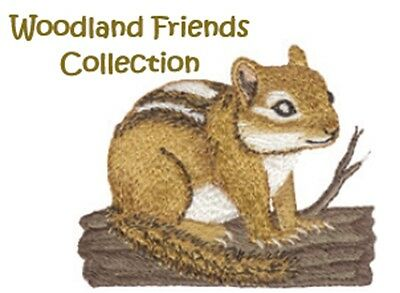 Woodland Friends Collection - Machine Embroidery Designs On Cd
