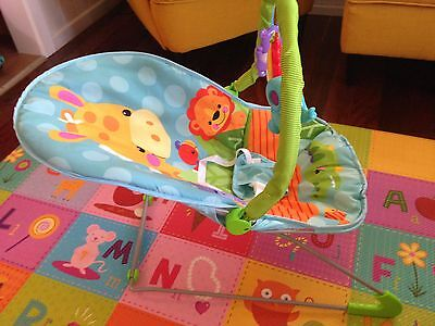 Fitch Baby Giraffe  Animal Musical Bouncer
