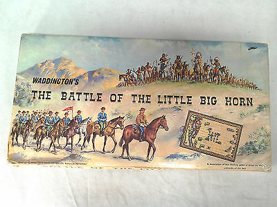 S85 The Battle of the Little Big Horn - Waddingtons 1964 - Boxed & Complete  B4