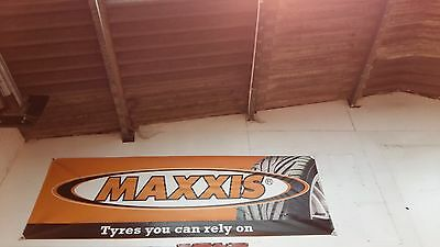 Maxxis Tyres Original PVC  Banner for Garage or Shop Display