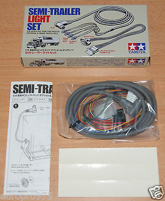 Tamiya 56502 Tractor Truck Semi-Trailer Light Set (Flatbed/Box/Container/Reefer)