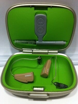 Pair Of Phonak Audeo Q90 Digital Hearing Aids