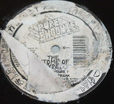 """EPITOME OF HYPE * THE FUTURE / LET THE FREAK * Classic Breakbeat House 12"""" Vinyl"""